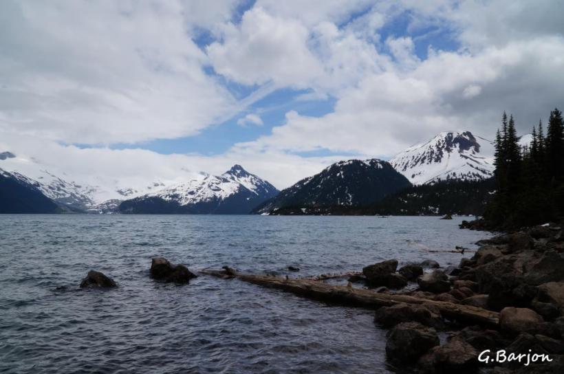 Gilles Barjon Lac Garibaldi 12